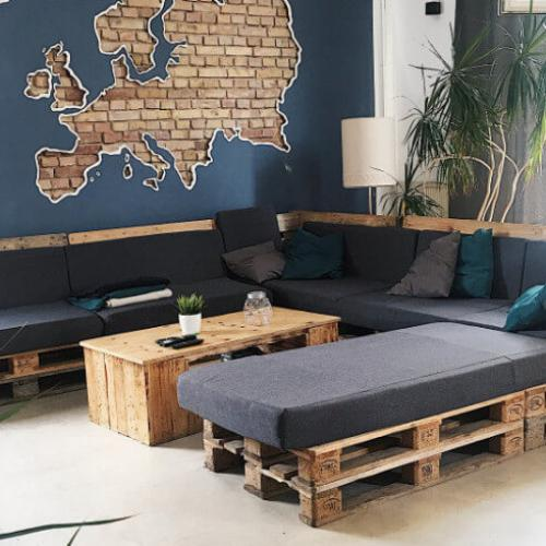 Lounge Blue Doors Hostel KTV Rostock